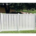 Country Estate Fence, Deck and Railing - Lakeview IIA Semi-Privacy Fence - Hurricane Zone Fencing
