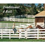 Country Estate Fence, Deck and Railing - Vinyl Equine Fencing