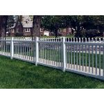 Country Estate Fence, Deck and Railing - Atlantic - Neighbor Friendly Style Vinyl Fencing
