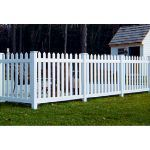 Country Estate Fence, Deck and Railing - Cape Cod - Neighbor Friendly Style Vinyl Fencing