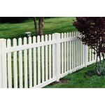 Country Estate Fence, Deck and Railing - Missouri - Neighbor Friendly Style Vinyl Fencing