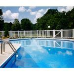 Country Estate Fence, Deck and Railing - Pacific - Neighbor Friendly Style Vinyl Fencing