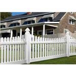 Country Estate Fence, Deck and Railing - Avondale - Picket Style Vinyl Fencing