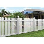Country Estate Fence, Deck and Railing - Brandywine - Picket Style Vinyl Fencing