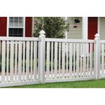 Country Estate Fence, Deck and Railing - Brewster - Picket Style Vinyl Fencing