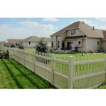 Country Estate Fence, Deck and Railing - Brighton - Picket Style Vinyl Fencing