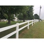 Country Estate Fence, Deck and Railing - 2 Rail Fence - Rail Fence Styles