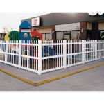 Country Estate Fence, Deck and Railing - Alton Vinyl Picket Fence