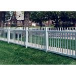 Country Estate Fence, Deck and Railing - Atlantic Vinyl Picket Fence