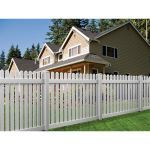 Country Estate Fence, Deck and Railing - Brandywine Vinyl Picket Fence