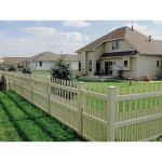 Country Estate Fence, Deck and Railing - Brighton Vinyl Picket Fence