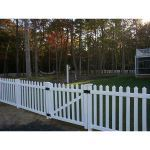 Country Estate Fence, Deck and Railing - Cap Cod Vinyl Picket Fence