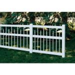 Country Estate Fence, Deck and Railing - Clarendon Vinyl Picket Fence