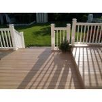 Country Estate Fence, Deck and Railing - Country Estate Vinyl Decking