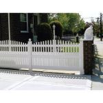 Country Estate Fence, Deck and Railing - Dawson Vinyl Picket Fence