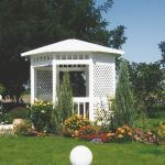 Country Estate Fence, Deck and Railing - Vinyl Gazebos