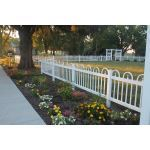 Country Estate Fence, Deck and Railing - Exeter Vinyl Picket Fence