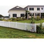 Country Estate Fence, Deck and Railing - Georgetown Vinyl Picket Fence