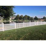 Country Estate Fence, Deck and Railing - Malibu Vinyl Picket Fence