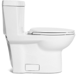 Niagara Conservation - One-Piece Stealth - 0.8 GPF Single Flush Elongated Toilet