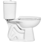"Niagara Conservation - The Original Stealth - 0.8 GPF Single Flush 12"" Elongated Toilet"