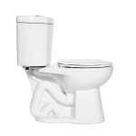 "Niagara Conservation - The Original Stealth - 0.8 GPF Single Flush 12"" Round Toilet"