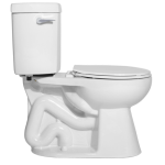 "Niagara Conservation - The Original Stealth with Side Handle - 0.8 GPF Single Flush 10"" Round Toilet"
