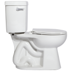 "Niagara Conservation - The Original Stealth with Side Handle - 0.8 GPF Single Flush 12"" Round Toilet"
