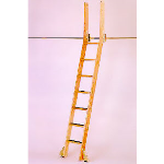 "Putnam Rolling Ladder Co., Inc. - ""Top Bent"" Rolling Loft Ladder"