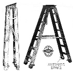 Putnam Rolling Ladder Co., Inc. - Automatic Portable Ladder No.105