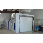 RollSeal (A division of HH Technologies) - Industrial Paint and Finishing - Overhead Rapid Coiling Fabric Doors