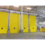 RollSeal (A division of HH Technologies) - Ripening Rooms - Overhead Rapid Coiling Fabric Doors