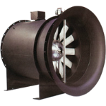 Chicago Blower Corporation - Design 47 Controllable Pitch Vane Axial Fan