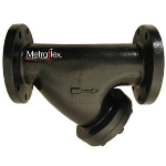 Metraflex - M1K 125# Flanged Cast Iron Y Strainer