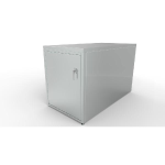 Huntco Site Furnishings - The Double Bike Locker