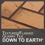 Metropolitan Ceramics by Ironrock - Down to Earth® Flashed Quarry Tile with Texture