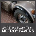 Metropolitan Ceramics by Ironrock - METRO® PAVERS Unglazed Quarry Tile