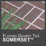 Metropolitan Ceramics by Ironrock - Somerset™ Flashed Unglazed Quarry Tile