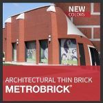 Metropolitan Ceramics by Ironrock - MetroBrick® Architectural Thin Brick