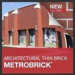 Metropolitan Ceramics by Ironrock - MetroBrick® Architectural Thin Brick