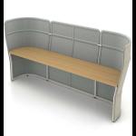 Haworth - Openest Double Desk - Desks