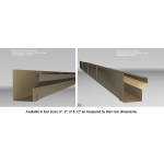 Southern Aluminum Finishing Co., Perimeter Systems - Industrial Series Gutters