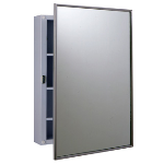 GAMCO - MC-2 Surface-Mounted Stainless Steel Medicine Cabinet