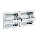 GAMCO - 212 DBL Recessed Double Toilet Tissue Paper Holder