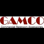 GAMCO - 76867 Double-Roll Stainless Steel Toilet Tissue Dispenser - Satin-Finish