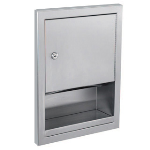 GAMCO - TD-4F Semi-Recessed Towel Dispenser