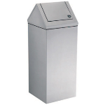 GAMCO - WR-12 Floor Standing Swing-Top Waste Receptacle, 21 gal. (79.5 L)