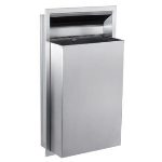GAMCO - WR-6 Recessed Waste Receptacle, 12 gal. (45.4 L)