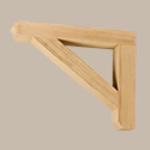 Fypon LLC - Bracket 24X18X4 Wood Grain