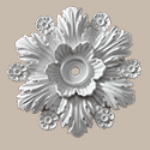 Fypon LLC - Ceiling Medallion 1PC Beaumont 14-3/8X14-3/8X2-1/4 Smooth